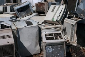 dumped-destroyed-air-conditioners