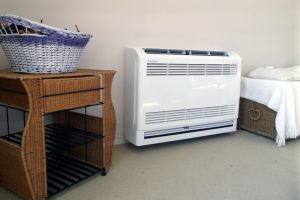 heat pump floor unit